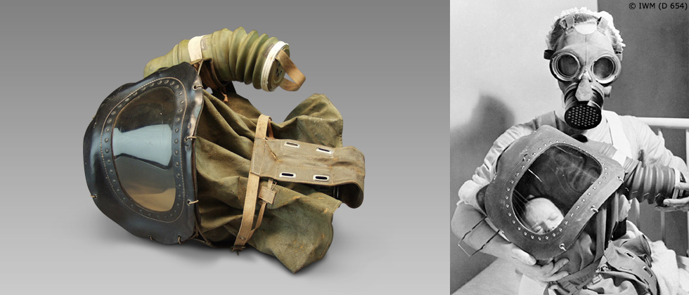 World War II gas mask for babies -1939