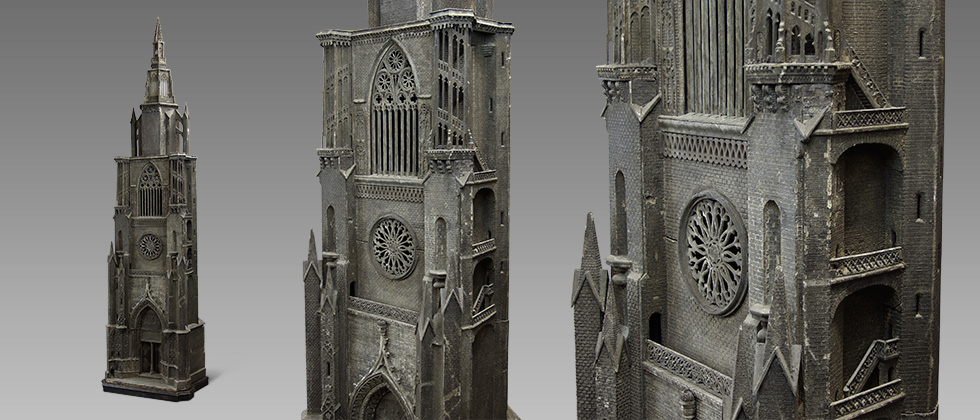 huge cathedral model