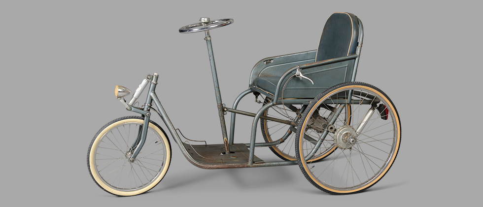 Three-Wheeler Invalid Carriage, circa 1929