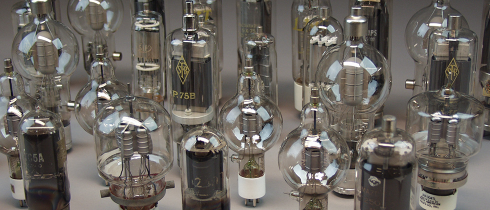 transistor's vacuum tubes of the thirties